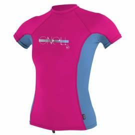 T-shirt de bain anti-UV pour filles Premium Rash - Berry, O'Neill