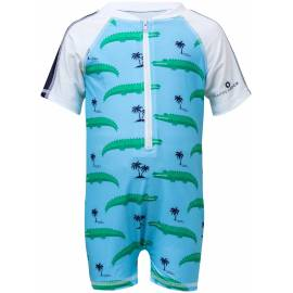 Combinaison de natation anti-UV pour garçon Bleu , Snapper Rock