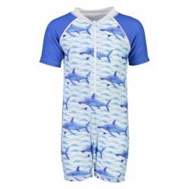 Combinaison de natation anti-UV pour bébé Bleu , Snapper Rock