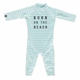 Combinaison de natation anti-UV pour bébé - Beach Garçon Bleu clair/Blanc, Beach & Bandits