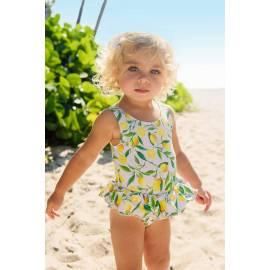 Maillot de bain anti-UV pour bébé Jaune, Snapper Rock