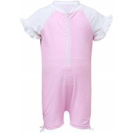 Combinaison de natation anti-UV pour bébé Rose, Snapper Rock