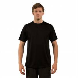 T-shirt de plage anti-UV pour hommes Noir, Vapor Apparel
