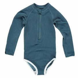 Maillot de bain anti-UV pour filles Collection Ribbed - Océan, Beach & Bandits