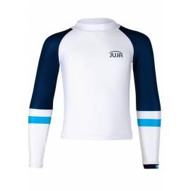 T-shirt anti-UV pour garçon - manches longues Colorblock Blanc, JUJA