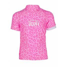 T-shirt anti-UV pour filles - manches courtes Leopard Rose, JUJA