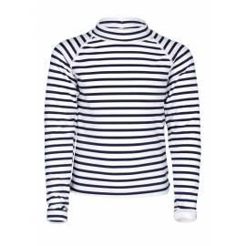 T-shirt anti-UV pour filles - manches longues Sailor Blanc/Bleu, JUJA