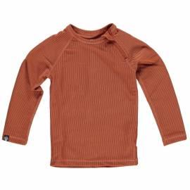 T-shirt de bain anti-UV pour enfants Collection Ribbed - Terre, Beach & Bandits