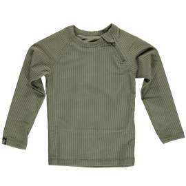 T-shirt de bain anti-UV pour enfants Collection Ribbed - Palme, Beach & Bandits