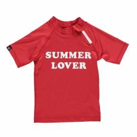 T-shirt de plage anti-UV pour enfants Rouge, Beach & Bandits