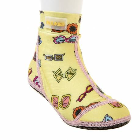 Chaussures d'eau anti-UV pour filles Jaune, Duukies