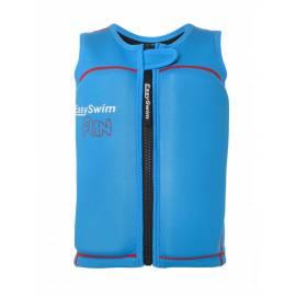 EasySwim - Gilet de flottaison anti-UV pour garçon Fun Bleu, EasySwim