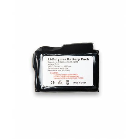 Pack 2 Batteries 2200mAh, Heat Expérience