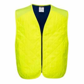 Gilet de rafraichissement jaune, Portwest