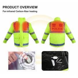 Veste chauffante HV pour Professionnel sur commande, Sodiffusion
