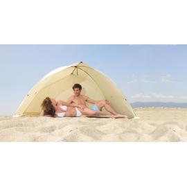 Abri de plage anti uv EASY SHELL Beige certifié