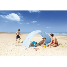 Abri de plage anti uv EASY SHELL Ice Blue certifié