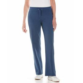 Pantalon de plage anti UV femme - Windley - Denim Blue