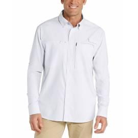 Chemise anti UV pour homme - Baraco - Blanc