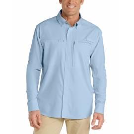 Chemise anti UV pour homme - Baraco - Bleu clair