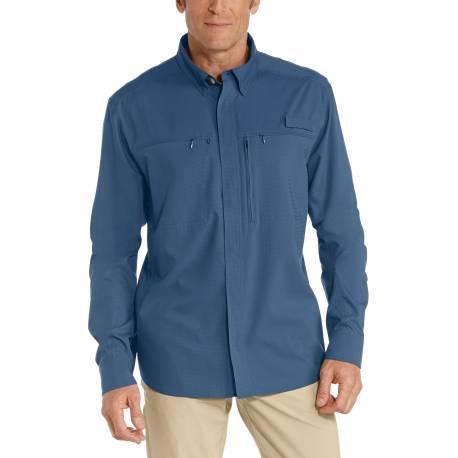 Chemise anti UV pour homme - Baraco - Marine