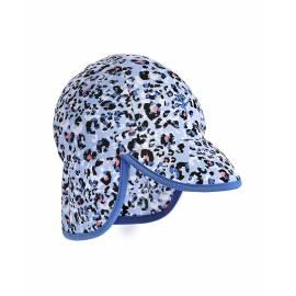 Chapeau anti UV pour bébé avec rabat - Splashy - Cheetah