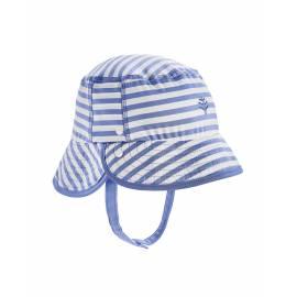 Bob anti UV pour les bébé - Linden - Seashore Bleu / Blanc