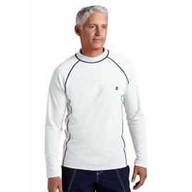 T-shirt de bain anti-UV pour homme - Blanc