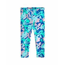 Legging de bain anti UV pour bébé - Collants Wave - Blue Marlin Floral