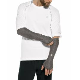 Manches Performance anti UV pour homme - Backspin - Charbon