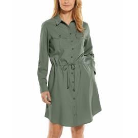 Tunique Robe de voyage anti UV pour femme - Napa - Olive