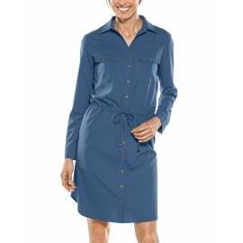 Tunique Robe de voyage anti UV pour femme - Napa - Marine