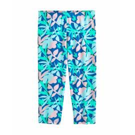 Legging de bain anti-UV pour fille - Vague Capri - Blue Marlin Floral