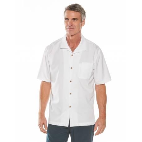 Chemise anti UV pour homme - Safari Camp - Blanc