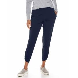 pantalon Casual anti UV pour femme - Café Ruche - Marine