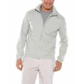 Veste d'été anti-UV packable pour homme - Verdon - glace gris