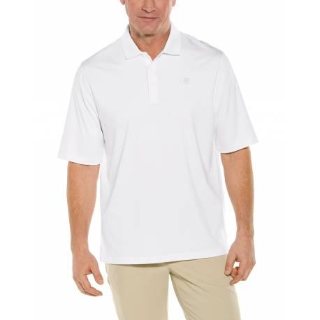 Polo Sport anti UV pour homme - Erodym Golf - Blanc