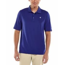 Polo Sport anti UV pour homme - Erodym Golf - Midnight Blue