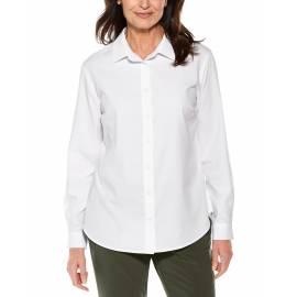 Chemisier anti UV pour femme - Hepburn Chemisier - Blanc