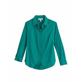 Chemisier anti UV pour femme - Chemisier Rhodes - Teal Emerald
