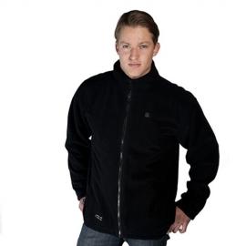 Veste polaire chauffante noire homme, Venture Heat