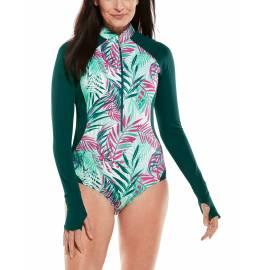 Maillots de bain Manches longues anti UV pour femme - bathingsuit Escalante - Palms été