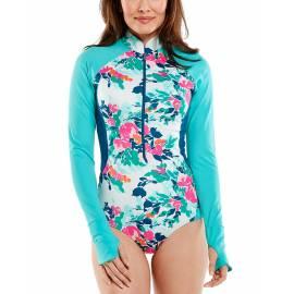 Maillots de bain Manches longues UV bathingsuit pour femme - Escalante - Floral Posy