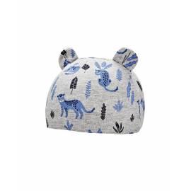 Bonnet pour bébé résistant aux UV - Critter Faune - Gris / Leopard