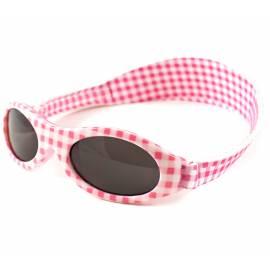Lunettes de soleil anti-UV pour Enfant - Bubzee - rose Carreau