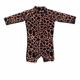 Combinaison de bain anti-UV pour bébé - Moray tachetée - Noir