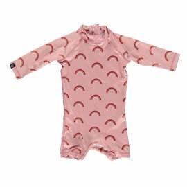 Combinaison de bain anti-UV pour bébé - Arc-en-ciel rose - Rose