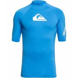 T-shirt de bain anti-UV pour homme - All Time - Bleu Brillant