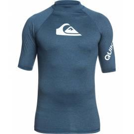 T-shirt de bain anti-UV pour homme - All Time - Bleu majolique