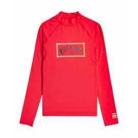 T-shirt anti-UV pour Garçon - Manches longues - Unity - Rouge